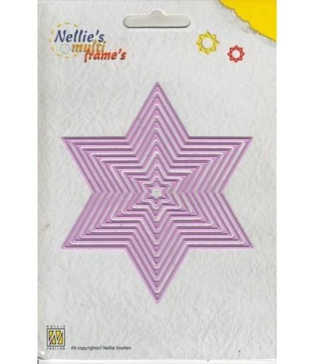 Stanzschablonen Straight Star - Nellie's Choice