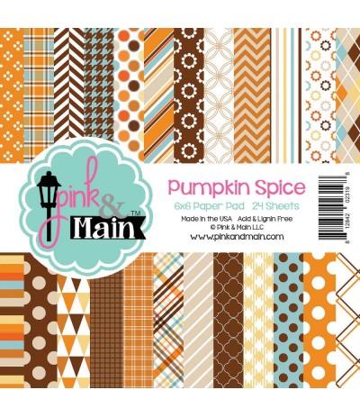 Scrapbooking Papier Pumpkin Spice - Pink & Main