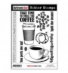 Cling Stempel Coffee Time - Darkroom Door