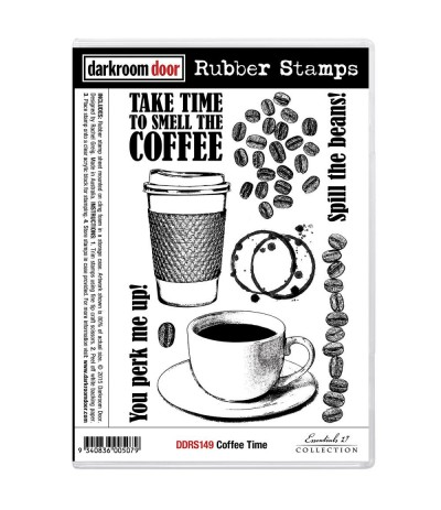 Cling Stempel Coffee Time - Darkroom Door
