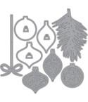 Stanzschablonen Beautiful Baubles - Elizabeth Craft