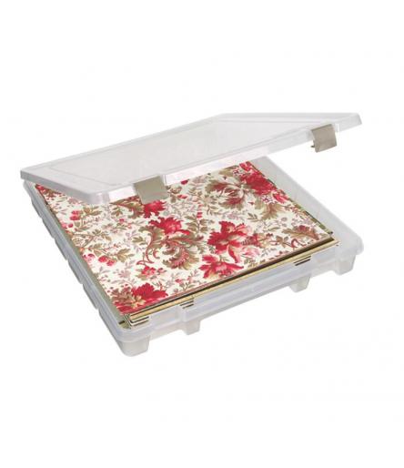 """Lagerbox für Scrapbooking-Papier transparent, 12"""" / 2"""" hoch - ArtBin"""