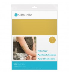 Tattoo Papier, Gold - Silhouette America