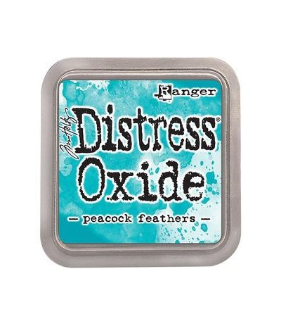 Distress Oxide Stempelkissen Peacock Feathers - Tim Holtz