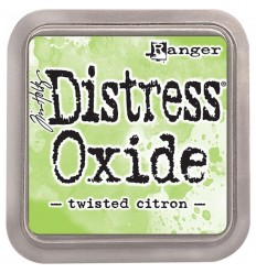 Distress Oxide Stempelkissen Twisted Citron - Tim Holtz