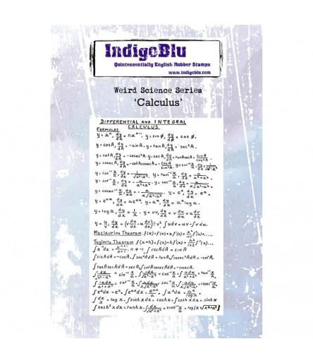 Cling Stempel Calculus - Indigo Blu