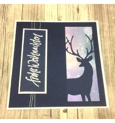 Graceful Stag Collage Stanzschablone - Memory Box
