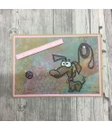 Crazy Dogs Cling Stempel - Tim Holtz