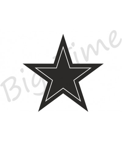 Stern in Stern Stempel