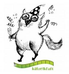 Drinky - Les gros chats Gummistempel - Katzelkraft