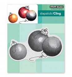 Cling Stempel Adornments - Penny Black