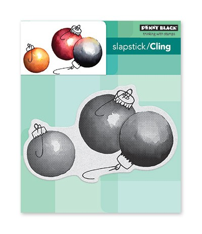 Cling Stempel Adornments - Penny Black