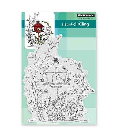 Cling Stempel Adorned Abode - Penny Black ***