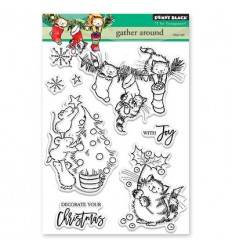 Clear Stamps Gather Around - Penny Black