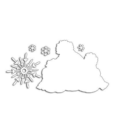 Stanzschablone Snow Family - Penny Black