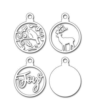 Stanzschablone Joful Ornaments - Penny Black