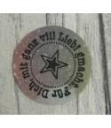 Für dich mit Stern Stempel rund, auf EZ Mount