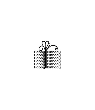 Happy Birthday Packli Stempel