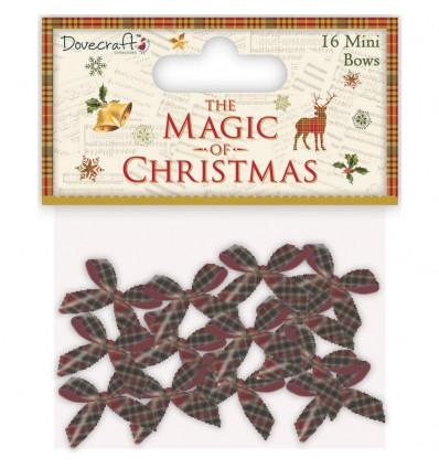 Mini-Schleifen The Magic of Christmas - Dovecraft