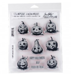 Cling Stempel Pumpkinheat - Tim Holtz