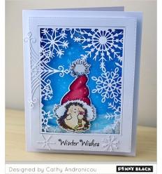 Holzstempel Santa's hat - Penny Black