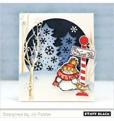 Clear Stamps North Pole - Penny Black
