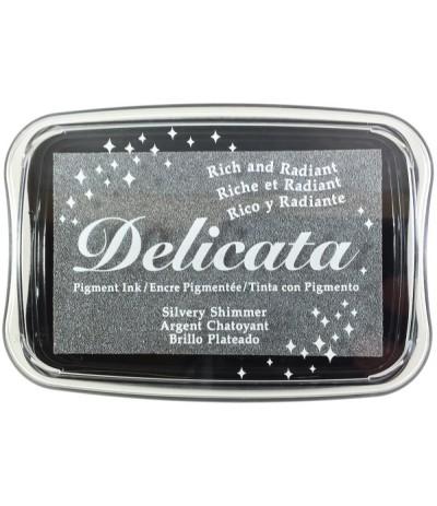 Silber Stempelkissen Delicata