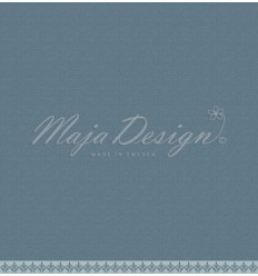 Scrapbooking Papier - Monochromes - Shades of Winterdays- Dusty Teal - Maja Design