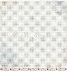 Scrapbooking Papier - Shades of Winterdays - Blizzard - Maja Design