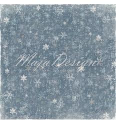 Scrapbooking Papier - Joyous Winterdays - Blizzard - Maja Design