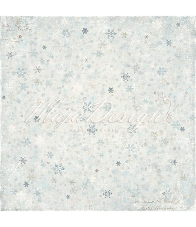 Scrapbooking Papier - Joyous Winterdays - Frost - Maja Design