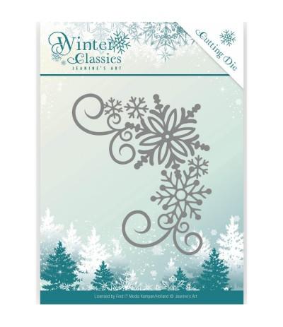 Stanzschablone Winter Corner - Jeanine's Art