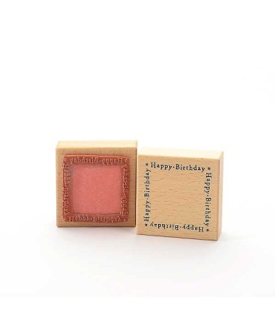 Happy Birthday (Rahmen) Stempel