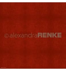 Scrapbooking Papier Holzstruktur Rot dunkel - Alexandra Renke