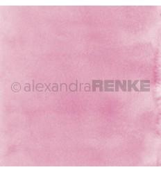Scrapbooking Papier Mimis Kollektion Aquarell Pink hell - Alexandra Renke