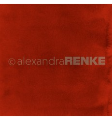Scrapbooking Papier Mimis Kollektion Aquarell Rot - Alexandra Renke
