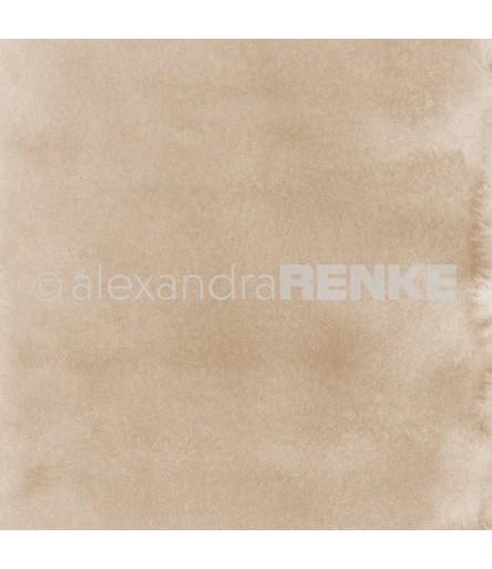 Scrapbooking Papier Mimis Kollektion Aquarell Gold - Alexandra Renke