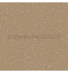 Scrapbooking Papier Schneeflocke Gold - Alexandra Renke