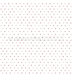 Scrapbooking Papier Sternchen Rot - Alexandra Renke