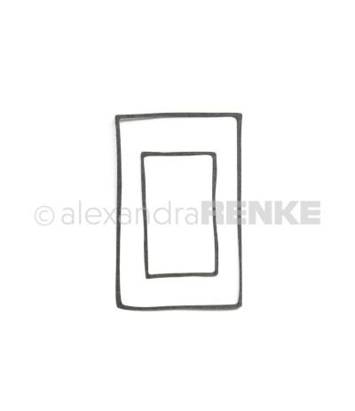 Stanzschablone Rahmen-Rechteck - Alexandra Renke