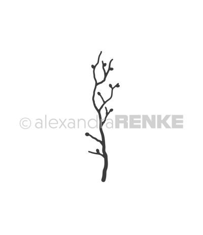 Stanzschablone Frühlingszweig - Alexandra Renke