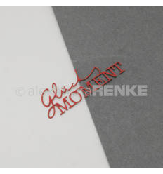 Stanzschablone Glücksmoment - Alexandra Renke