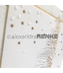 Prägeschablone Sternenregen - Alexandra Renke