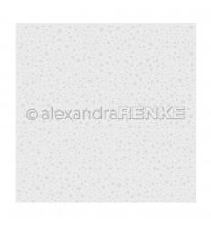 Prägeschablone Gepunktet mit Sternen - Alexandra Renke