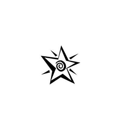 Spiral Stern Stempel