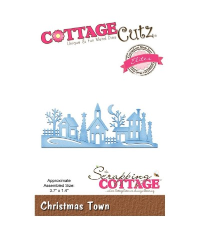 Stanzschablone Christmas Town - Cottage Cutz
