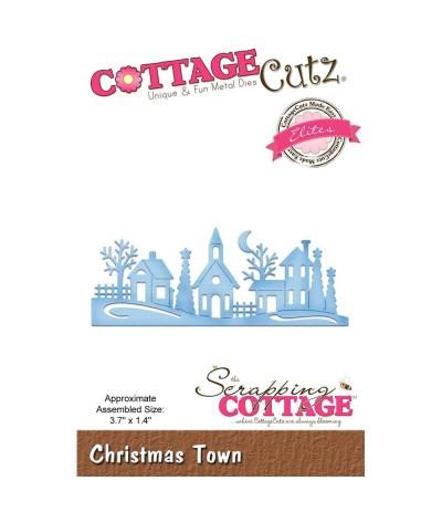Stanzschablone Christmas Town - Cottage Cutz