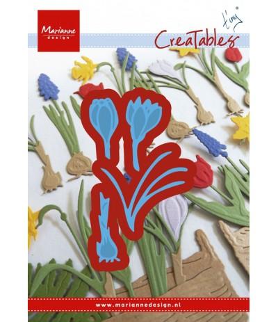 Stanzschablone Krokus - Marianne Design