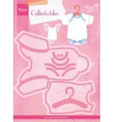 Stanzschablone Baby-Body - Marianne Design
