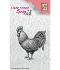 Clear Stamp Rooster - Nellie Snellen